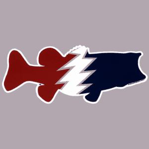 Pesca Muerta Large Mouth Bass Sticker