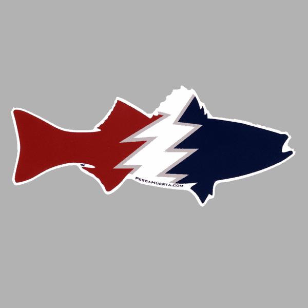 Pesca Muerta Striper Decal