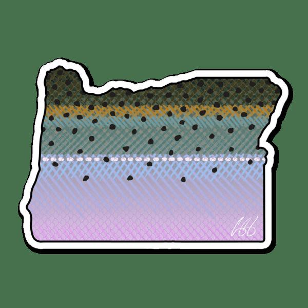 Casey Underwood Oregon Steelhead Sticker