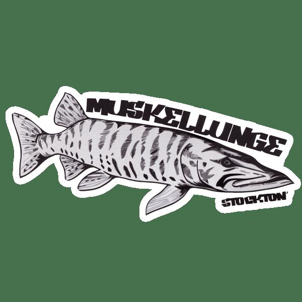 Matthew Stockton Muskellunge Sticker