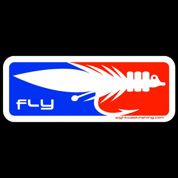Sight Cast Salt Water Fly Fishing Fly Sticker