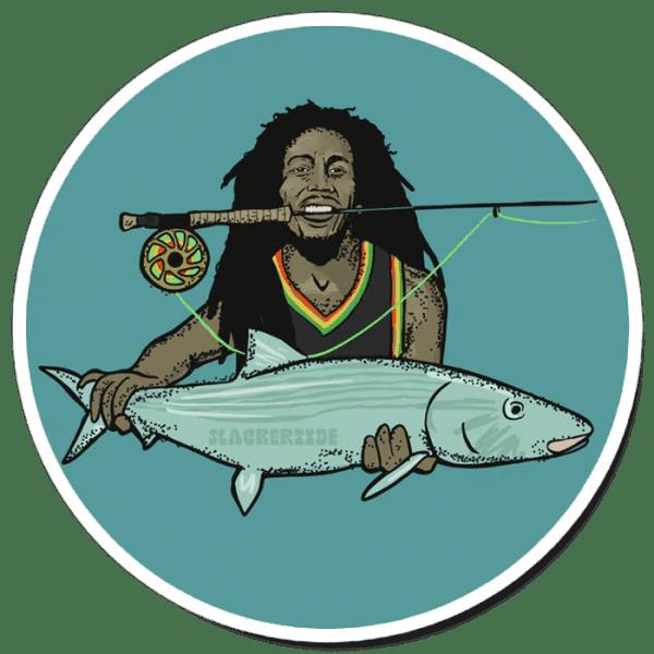 Richard Blanco Stinky Reggae Sticker