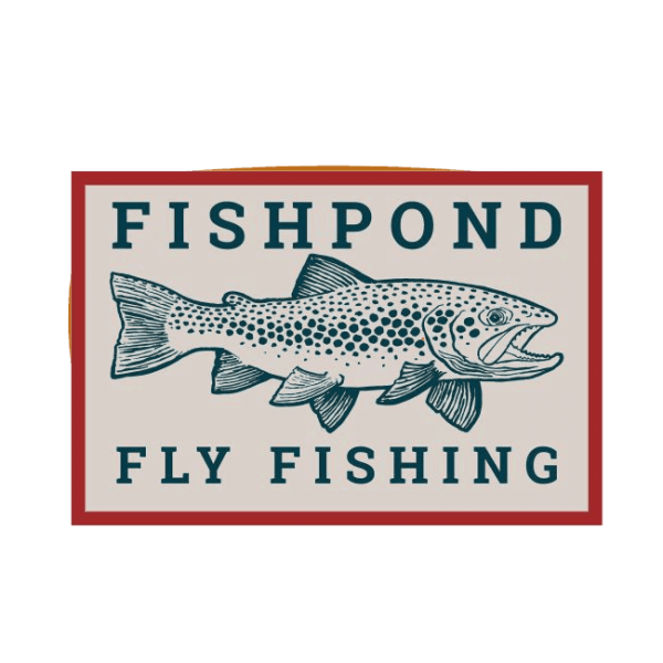 Fishpond Fly Fishing Las Pampas Brown Trout Sticker