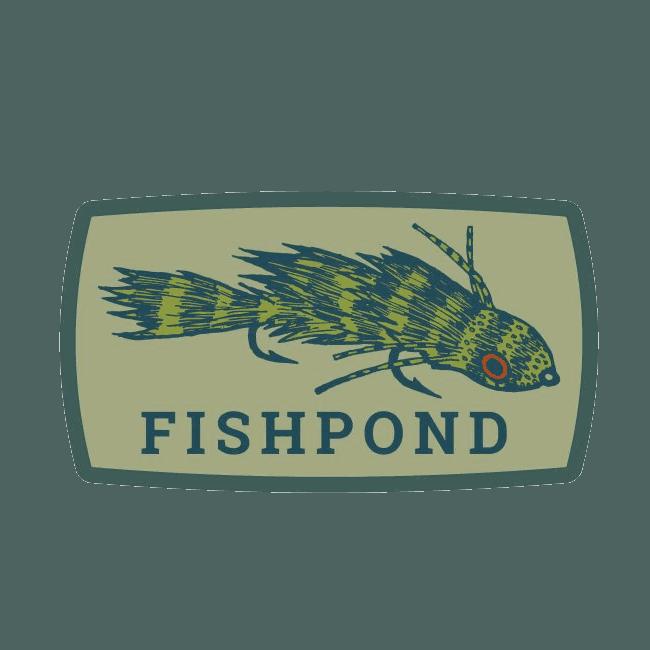 Fishpond Green Drake Fly Fishing sticker