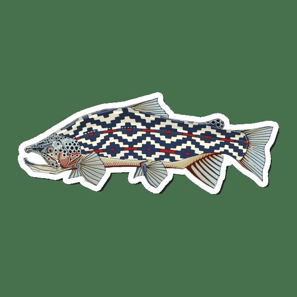Casey Underwood Gaucho Trout Sticker
