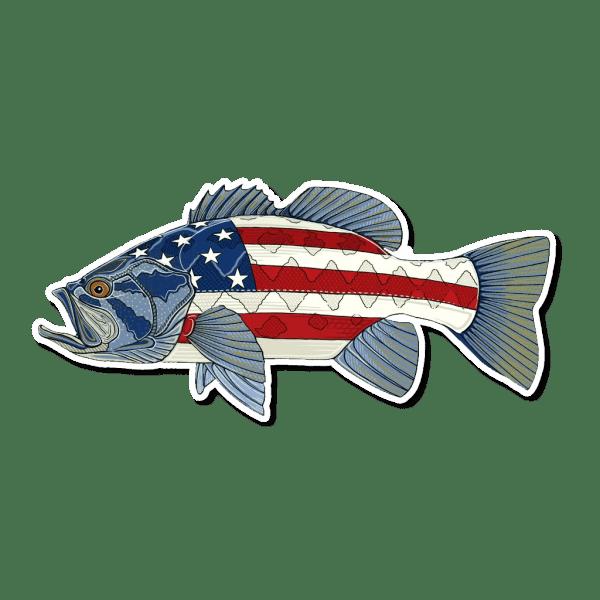 Casey Underwood USA Bass Sticker