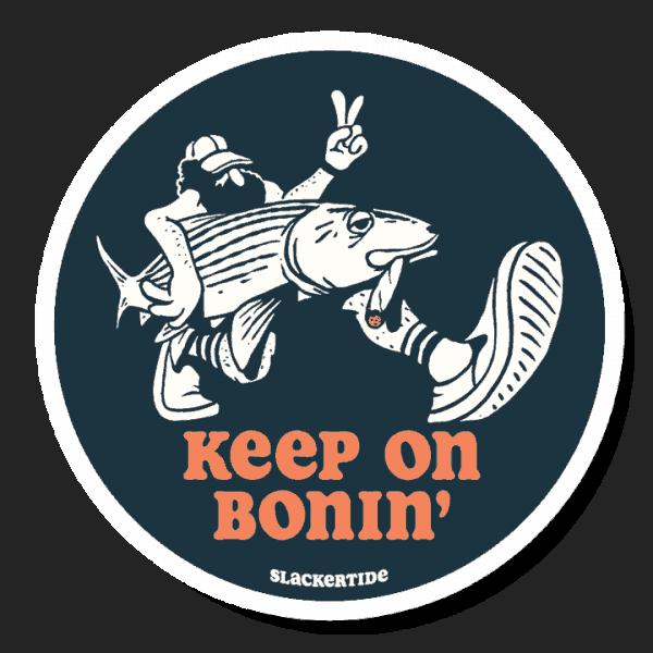 Richard Blanco Keep On Bonin Sticker