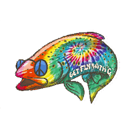 Get Fly With G Rainbow Hippie Trout