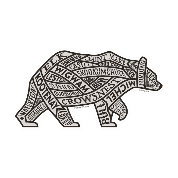McFly Canadian Western Rivers Sticker