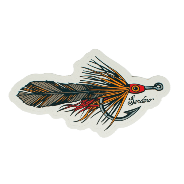 Sendero King Pursuit Tarpon Fly Sticker