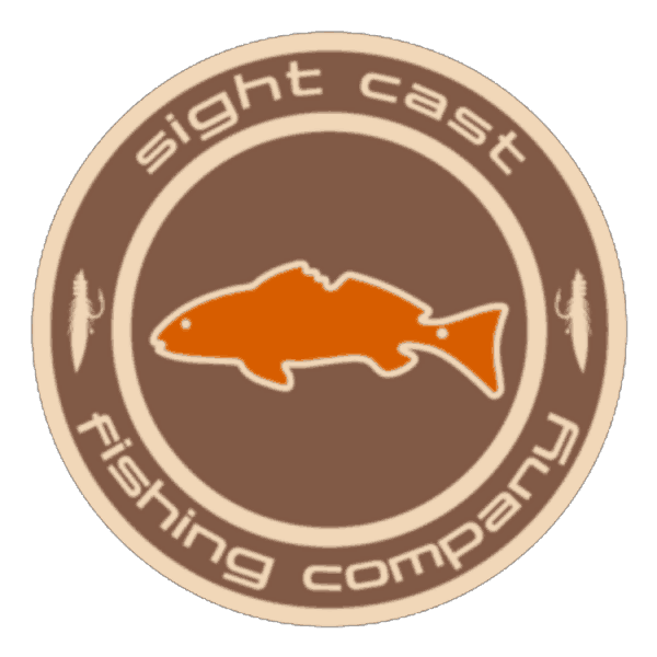 Sight Cast Fishing Company Redfish Emblem Sticker