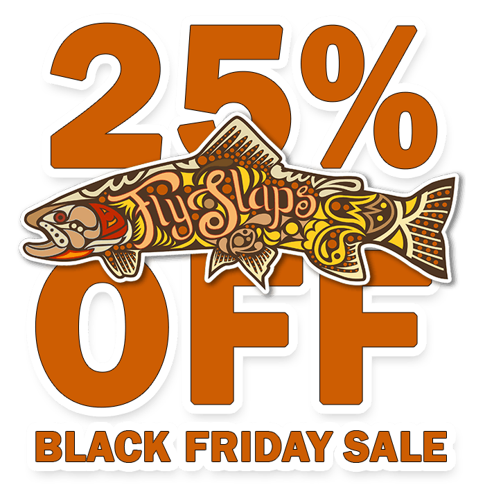 25% Black Friday Fly Slaps Ornamented Cutthroat Trout