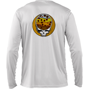 Fly Slaps Steal Your Face Brown Trout Solar Long Sleeve Shirt