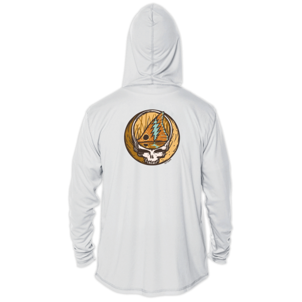Fly Slaps Steal Your Face Redfish Solar Hoody Back
