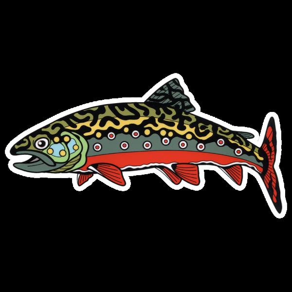 DrewLR Lost River Brookie Sticker