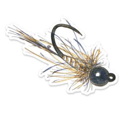 Kevin Onsrud Euro Jig Fly Sticker
