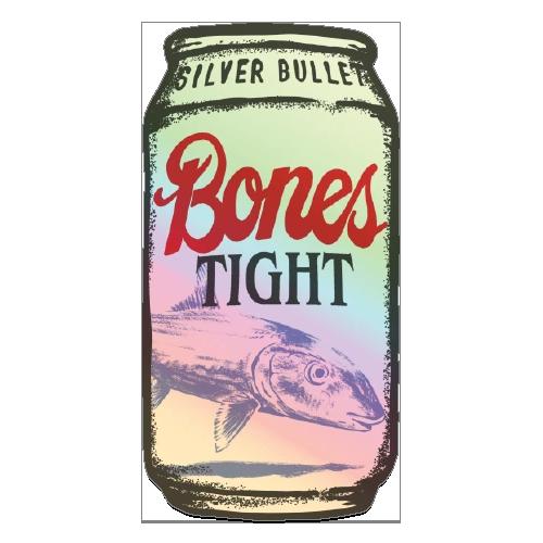 Richard Blanco Bones Tight Bonefish Sticker