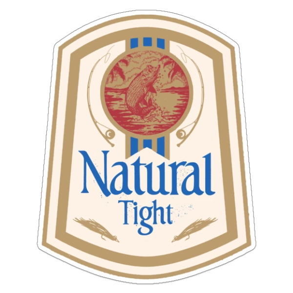 Richard Blanco Natural Tight Tarpon Sticker